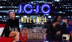 Jojo Todynho estreia talk show no Multishow e entrevista Juliana Paes em primeiro episódio