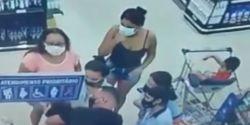 Bebê engasgado é socorrido por policial de folga em supermercado da capital